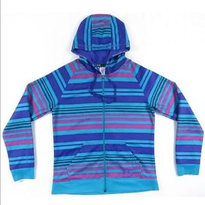 Under Armour UA Striped Hooded Full Zip Jacket